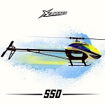 XL Power 550 Kit with Main & Tail Blades and 4020 Motor XL55K01