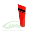 SAB Mini Comet Tail Fin Red