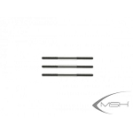 MSH Rod Set, Quantity of 3 for Protos 380