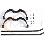 MSH Landing Gear Set, Black - Protos 500