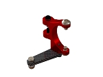 OXY4 CNC Tail Bell Crank - Red