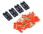 RCPROPLUS D4 Supra X Battery Connector Set (4 sets) (12~14AWG)