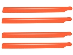Lynx Plastic Main Blade 190mm, 2 sets Orange