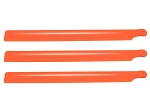 Lynx Plastic Main Blade 190mm, 3 pc set - Orange
