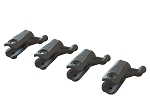OXY2 Sport - Tail Grip Only Plastic, 4Pcs