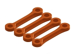 OXY3 CNC Boom Clamp Stiffener, Orange