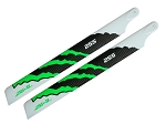 Zeal CF Main Blades 255mm Energy Green