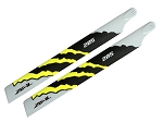 Zeal CF Main Blades 285mm Yellow