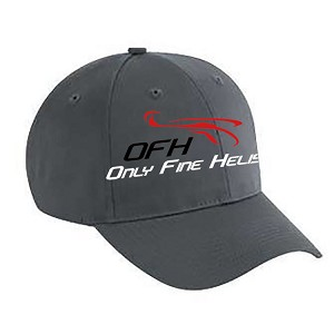 Only Fine Helis Logo Hat - Gray
