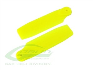 SAB Yellow Plastic Tail Blade 50mm