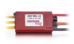 Kontronik 4604 Jive 100A + LV ESC with BEC