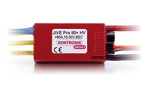 Kontronik 4630 Jive Pro 80A + HV ESC with BEC