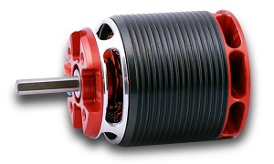 Kontronik Pyro 700-56L 560kv Long Shaft Brushless Motor