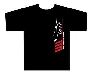 Only Fine Helis Logo T-Shirt 2 - Black