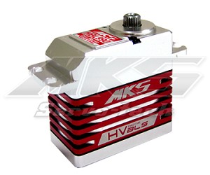 MKS HBL 990 High Voltage Tail Standard Servo