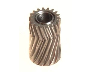 Mikado Pinion for herringbone gear 18 teeth, M0.5