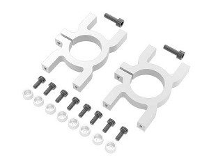 Mikado Tail boom clamps, LOGO 480
