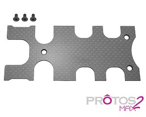 MSH Carbon Cover Frame Rear Plate for Protos Max V2