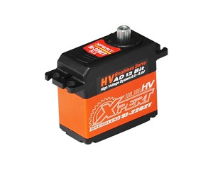 Xpert RC SI-2202T-HV Aluminum Case HV Narrow Band Tail Servo