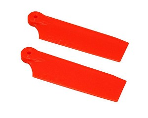 Oxy3 Tail Blade 47mm - Orange