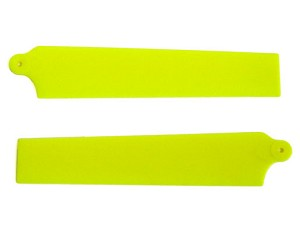 KBDD Main Rotor Blades for MCPx Yellow