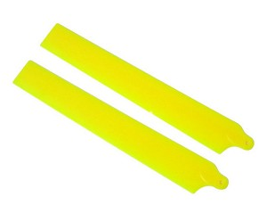 KBDD Main Rotor Blades Extreme Edition for 130x Neon Yellow
