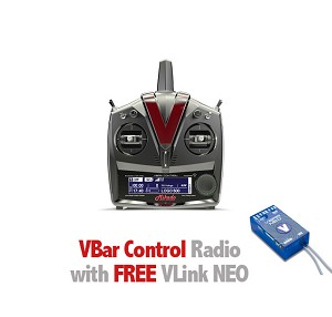 Mikado VBar Control Radio with FREE Vlink NEO, grey/black